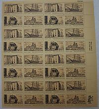 4 Mint Sheets, #1241,1250,1440,1474