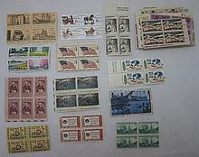 60 U.S. Blocks of 4 w/ Some