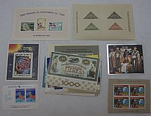 50 Souvenir Sheets, All Different