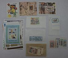 16 Souvenir Sheets w/ Associated Stamps- All Diff.