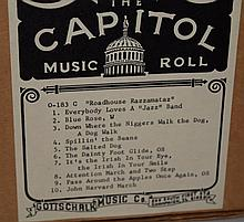 7 Capitol Music & Player Piano Co. Music Rolls