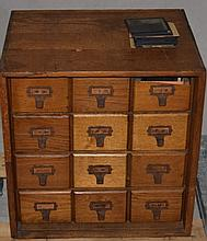 400+ Collection Magic Lantern Slides, 12 D Cabinet