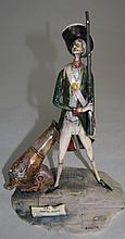 T Moretto Marine Corps USA 1780 Soldier Sculpture