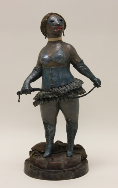 Charles Bragg American Bronze Sculpture Dominatrix