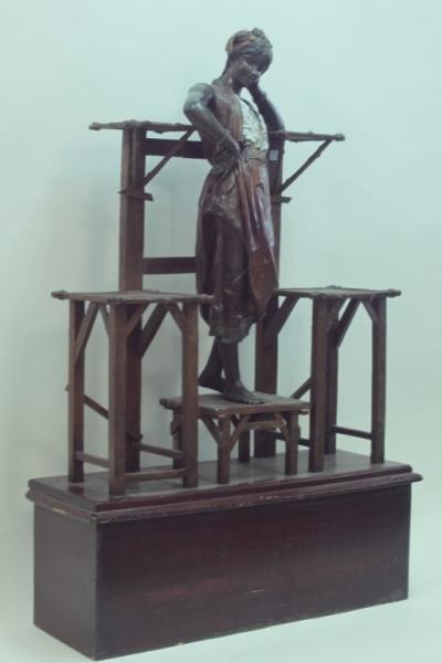 Louis Hottot (1834-1905) Orientalist Belly Dancer