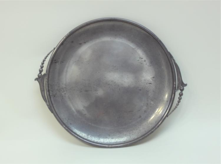 Whiting Sterling Silver Jensen Lilly Pattern Tray