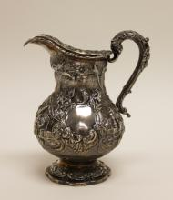 1831 London Sterling Silver Oriental Style Creamer