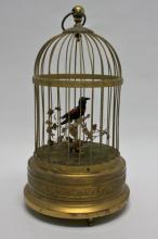 German Mechanical Automaton Song Bird Music Box