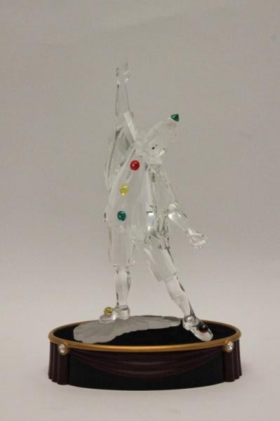 Large Swarovski Crystal Dancing Jester