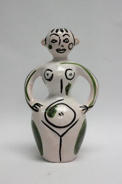 César Manrique 1919-92 Spanish Expressionist Vase