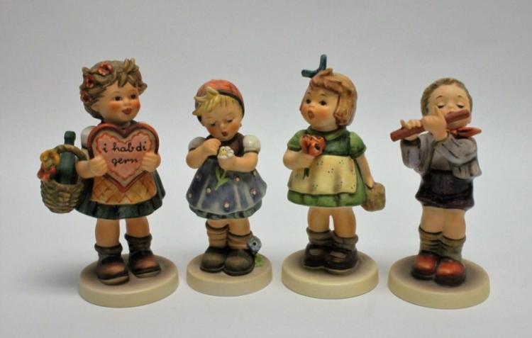 (4) Special Edition Goebel Hummel Figurines