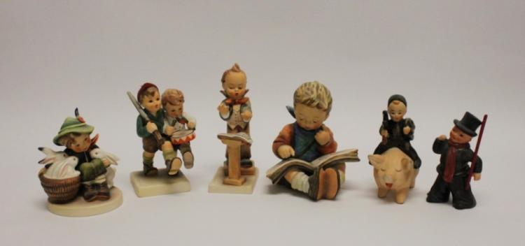 (6) Goebel W. Germany Hummel Figurines