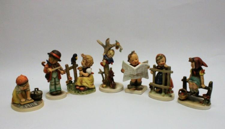 (7) Goebel W. Germany Hummel Figurines
