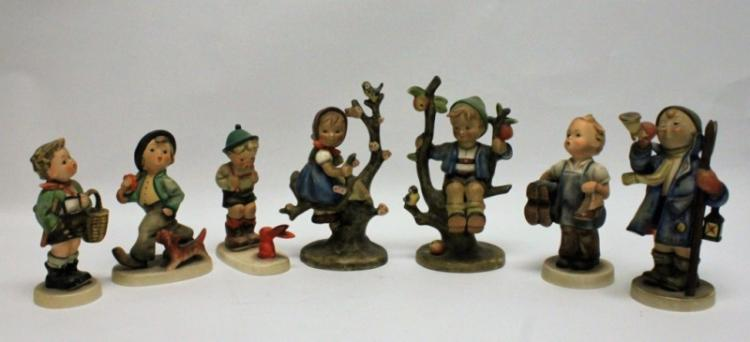 (7) Goebel Germany Hummel Figurines Tree Climbers