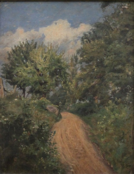 Victorian Era Continental Landscape Oil Painting