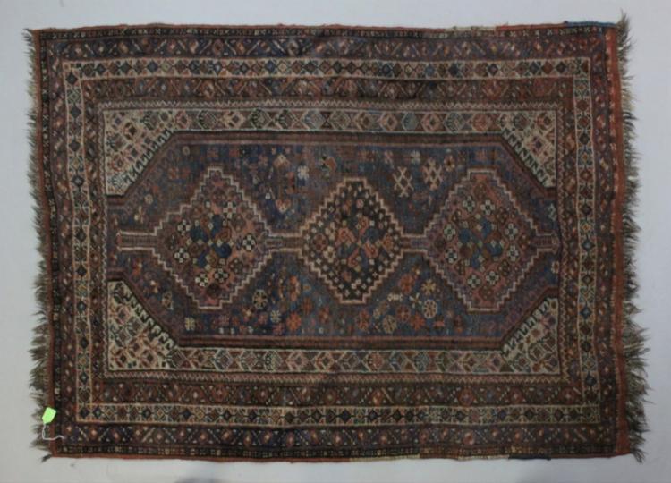 1940's Era Armenian Wool Area Rug