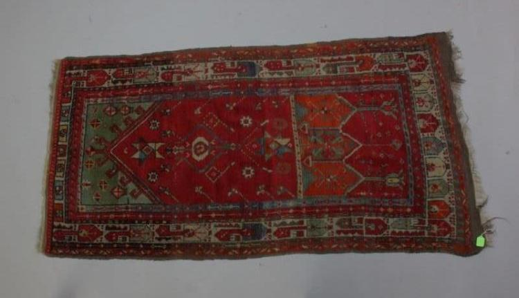 Early Turkish Ladik Prayer Rug