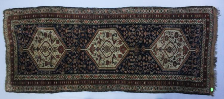 Large Malayar Persian Wool Runner
