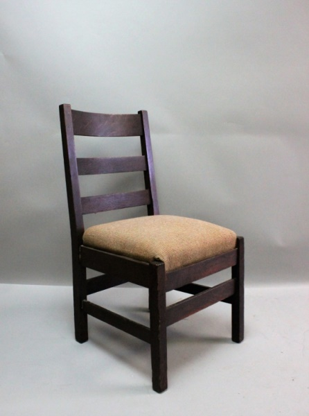 L & J G Stickley Mission Oak Arts & Crafts Chair