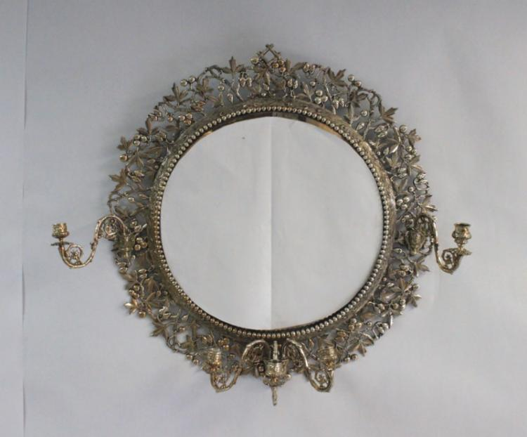 19th Century Aesthetics Movement Girandole Mirror