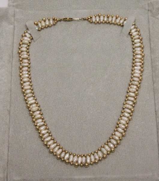 Fortunoff Fresh Water Pearl & 14k Gold Choker
