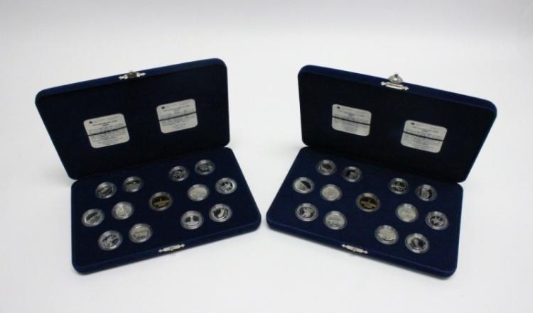 (2)1992 Royal Canadian Mint Commemorative Coin Set