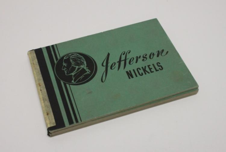(70) Pc Jefferson Head Nickel Collection 1938-63