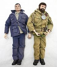 Two Vintage Hasbro GI Joe Action Figures