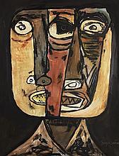 OSWALDO GUAYASAMIN (Ecuatorian, 1919-1999) (Attrib.)