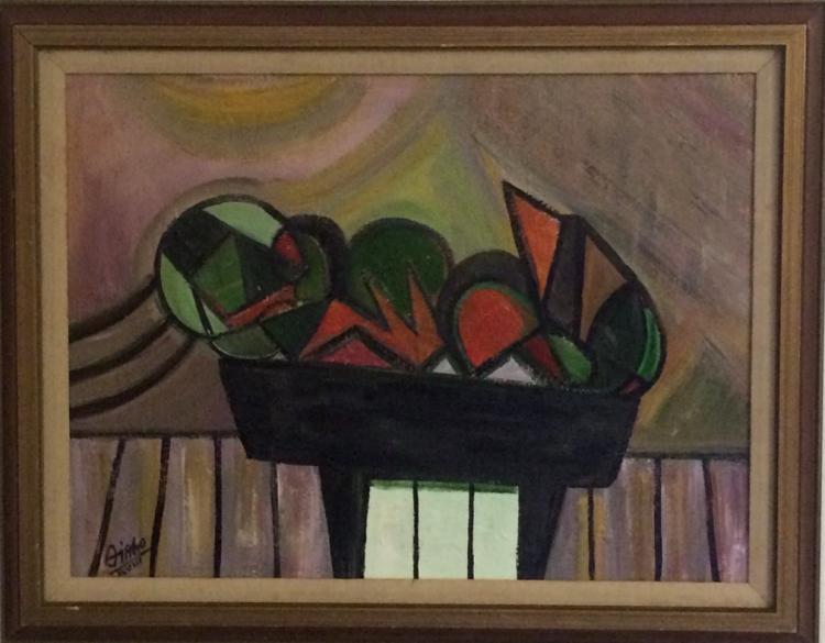 CARMELO GONZALEZ CUBAN ART   ATTRIBUTED