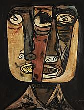 OSWALDO GUAYASAMIN (Ecuatorian, 1919-1999)
