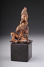 A Tibetan-Chinese bronze Bodhisattva,