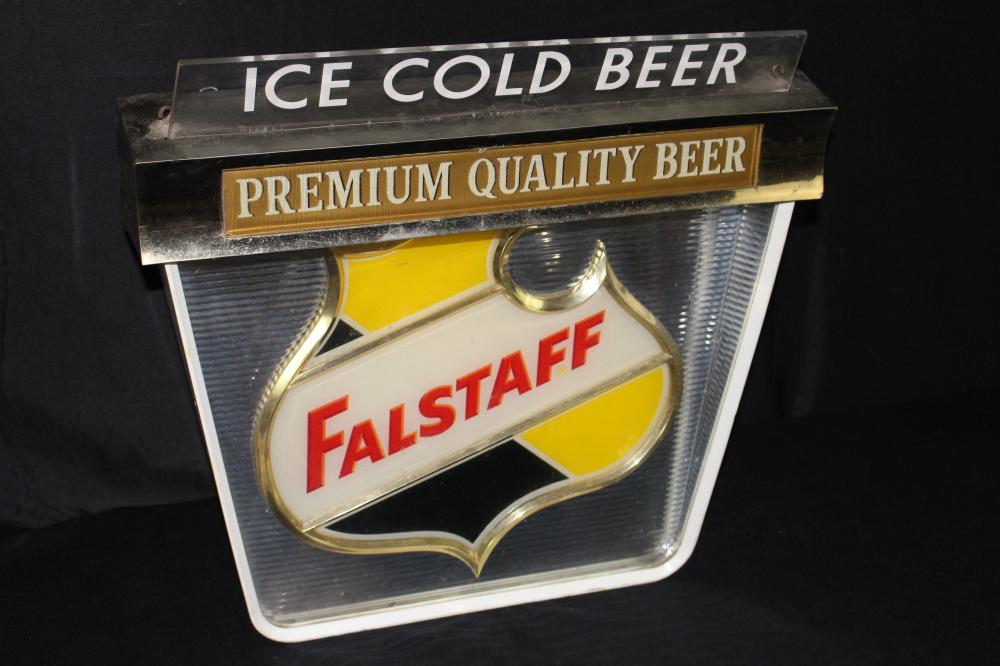 FALSTAFF PREMIUM QUALITY BEER LIGHTED SIGN