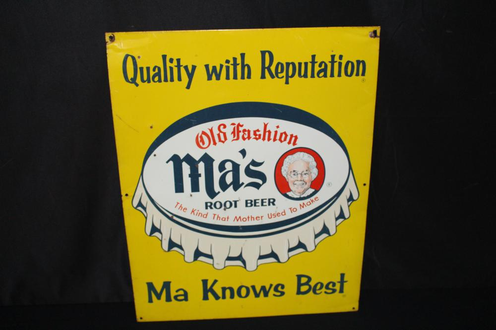 MAS OLD FASHIONED ROOT BEER SIGN