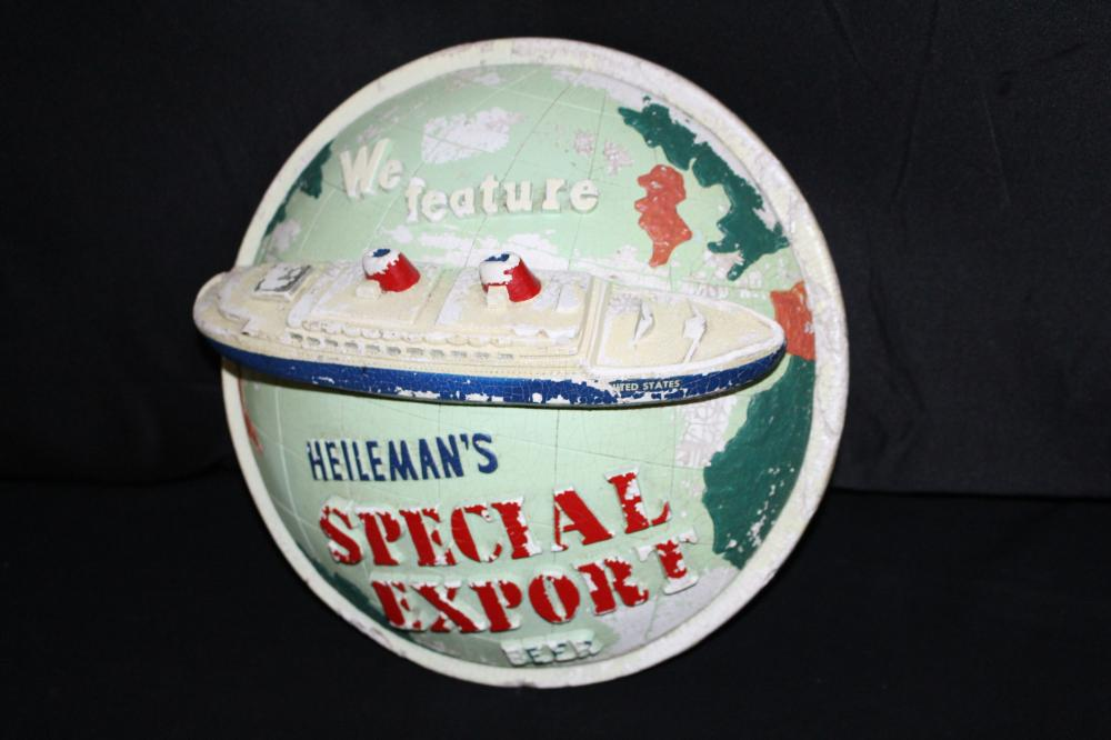 HEILEMANS SPECIAL EXPORT BEER CHALK SIGN