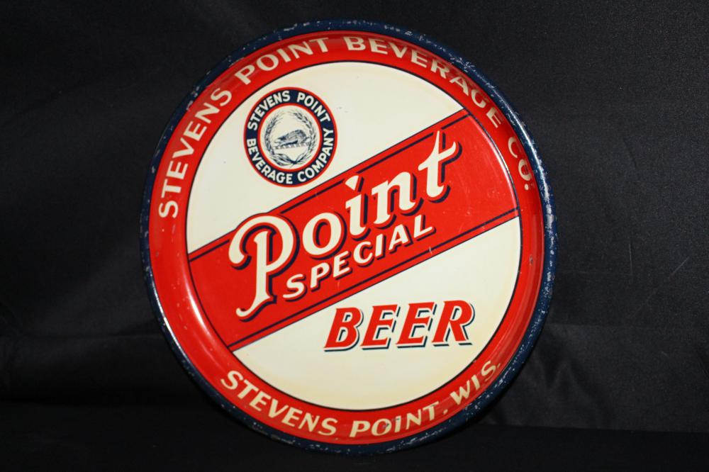 STEVENS POINT BEVERAGE CO BEER TRAY WISCONSIN