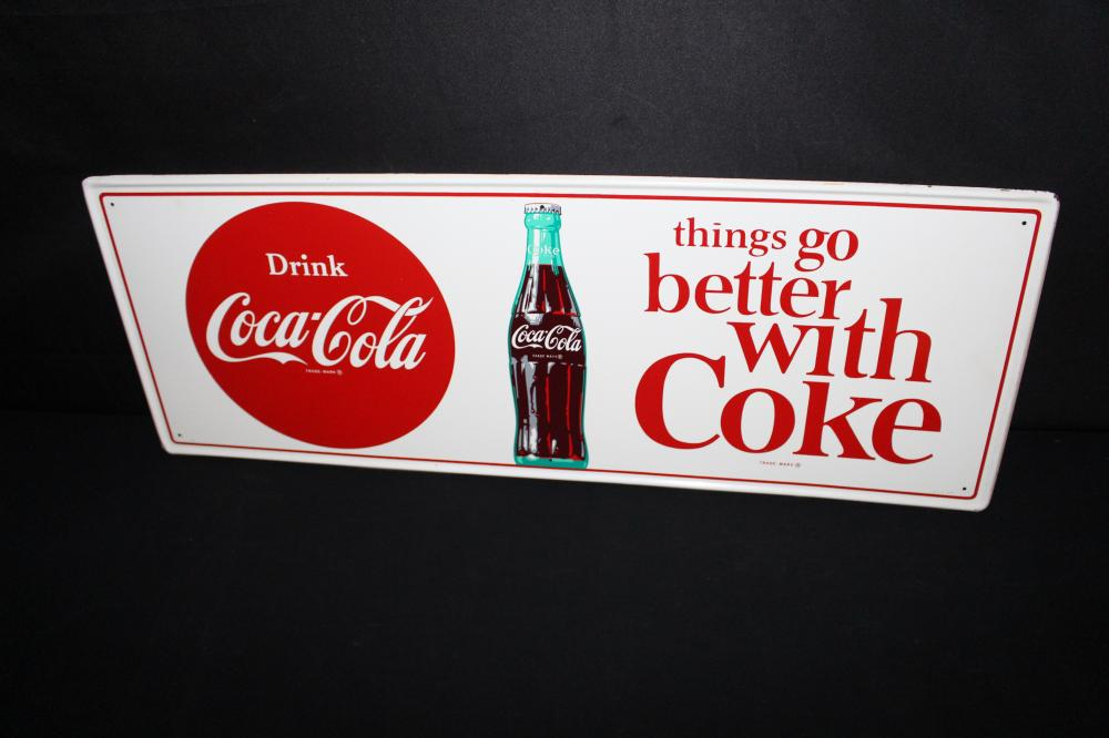 THINGS GO BETTER WITH COKE TIN SIGN