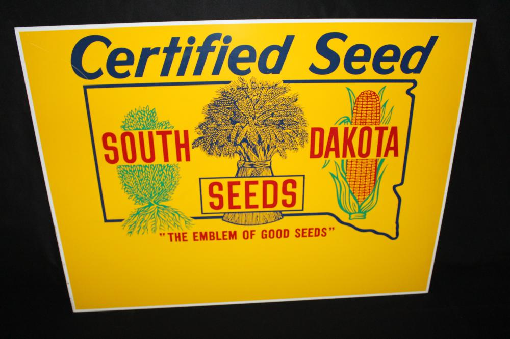 SOUTH DAKOTA CERTIFIED SEEDS FARM SIGN
