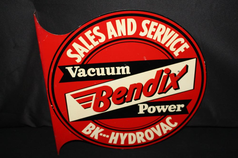 BENDIX POWER SALES & SERVICE FLANGE SIGN