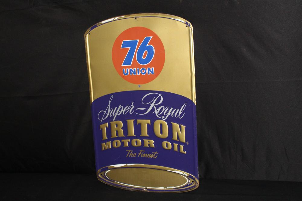 UNION 76 TRITON MOTOR OIL SIGN