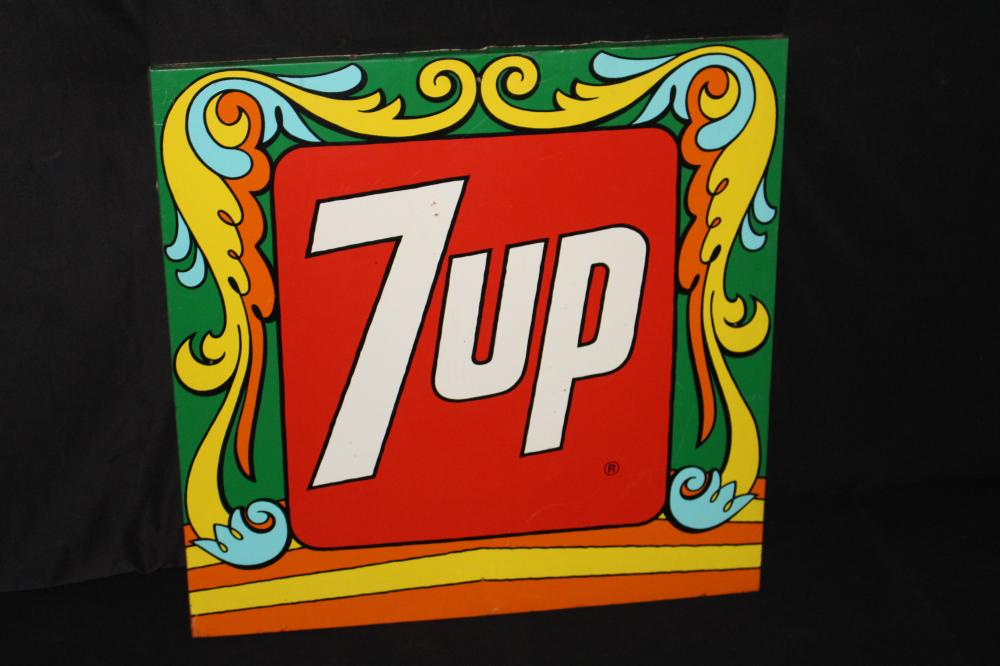 PETER MAXX 7 UP 7UP SEVEN UP SODA POP SIGN