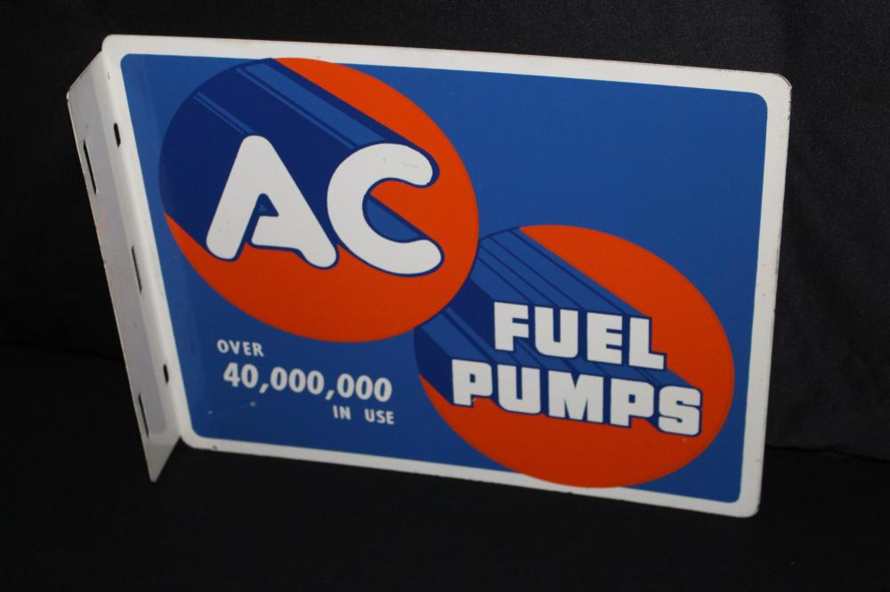 AC FUEL PUMPS FLANGE SIGN