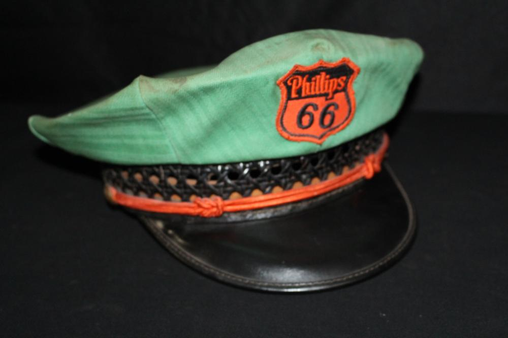 LEE PHILLIPS 66 SERVICE STATION UNIFORM HAT