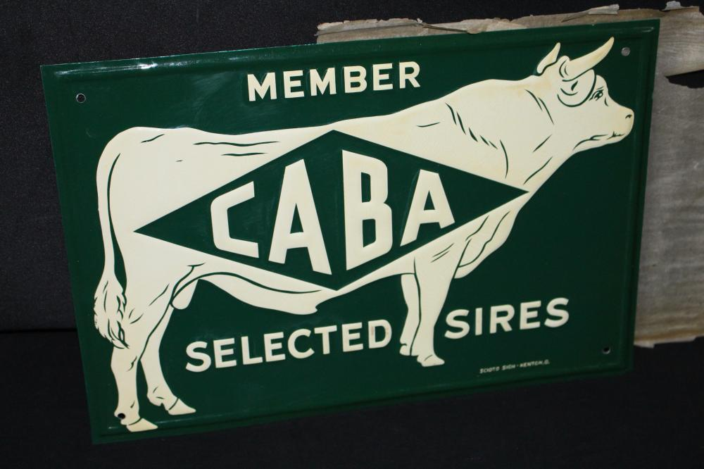 NOS COBA SELECTED SIRES CATTLE BREEDER SIGN