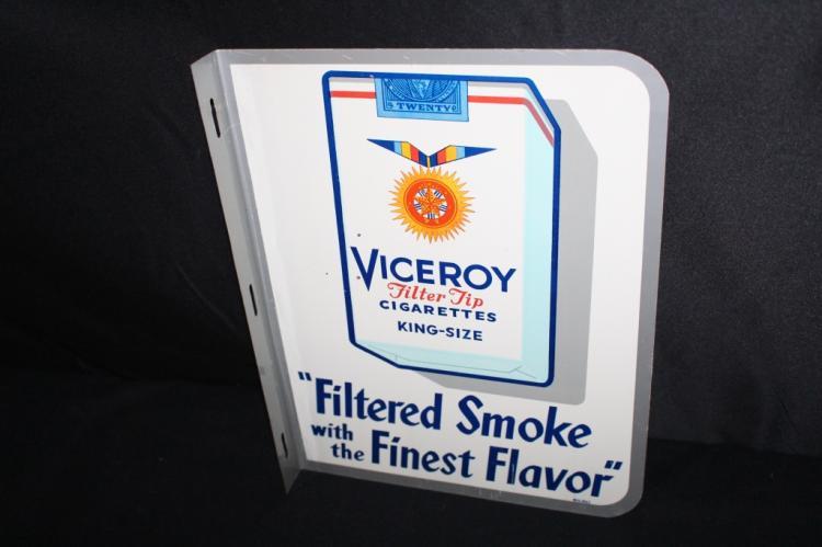 VICEROY CIGARETTES FLANGE SIGN