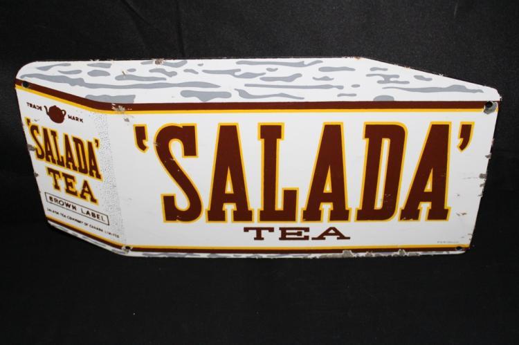 PORCELAIN SALADA TEA SIGN