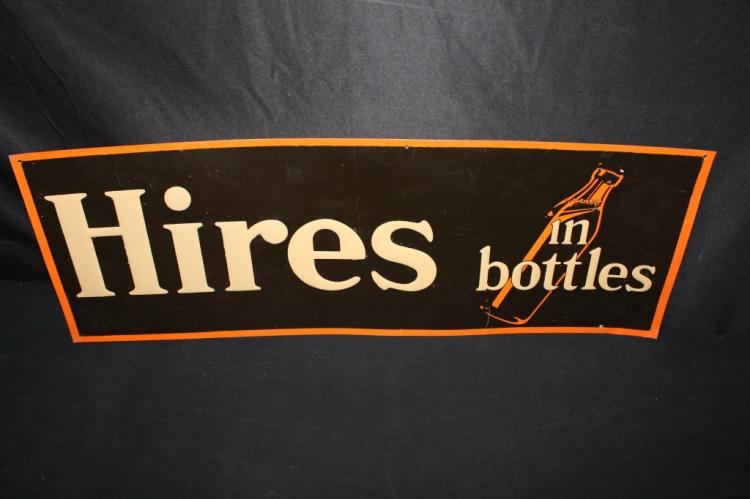 HIRES ROOT BEER IN BOTTLES TIN SIGN
