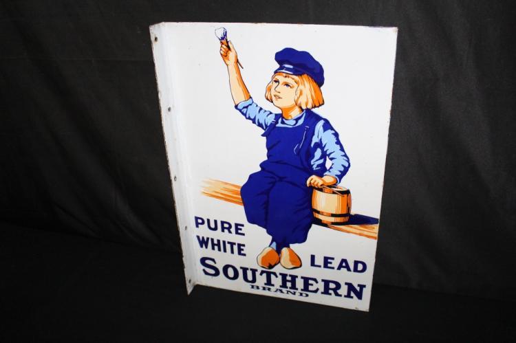 PORCELAIN SOUTHERN BRAND DUTCH BOY PAINTS SIGN