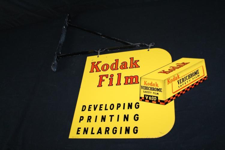 KODAK VERICHROME FILM SIGN 2 SIDED