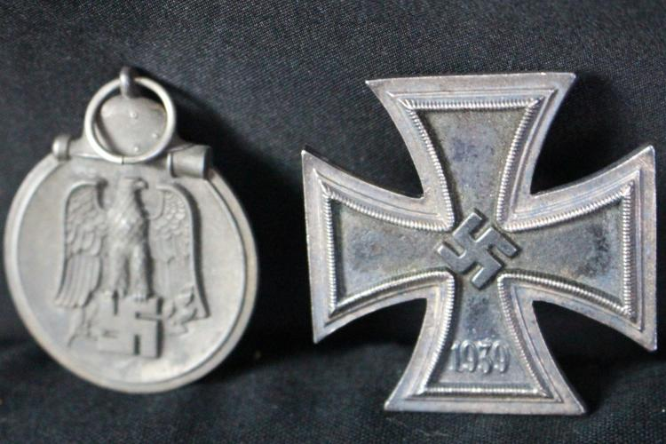 Ww2 Nazi German Iron Cross Eastern Front Medals